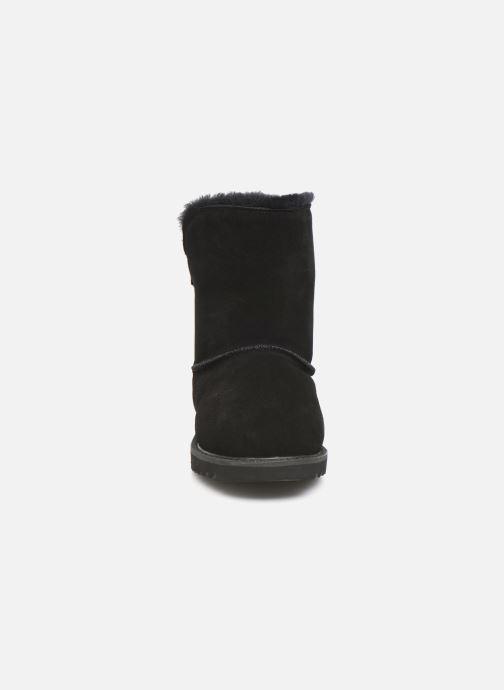 Bottines et boots Minnetonka Danaa Noir vue portées chaussures