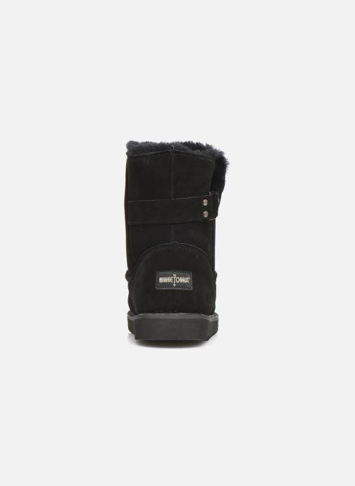 Bottines et boots Minnetonka Danaa Noir vue droite