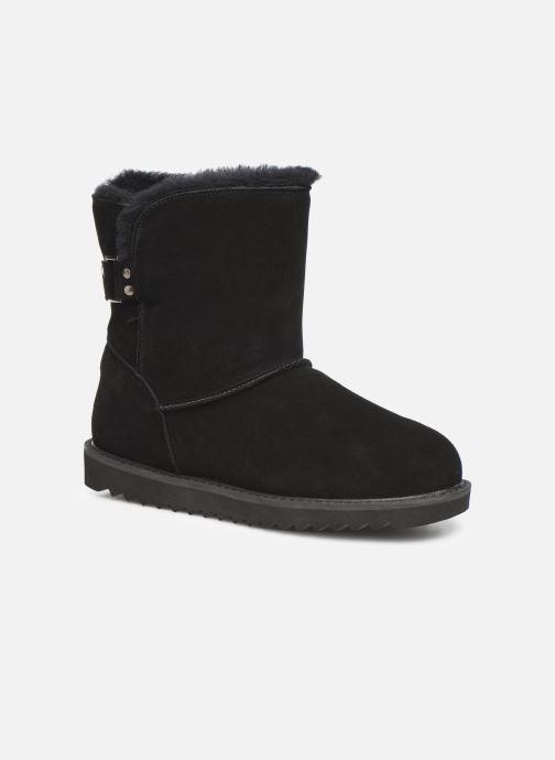 Bottines et boots Minnetonka Danaa Noir vue détail/paire