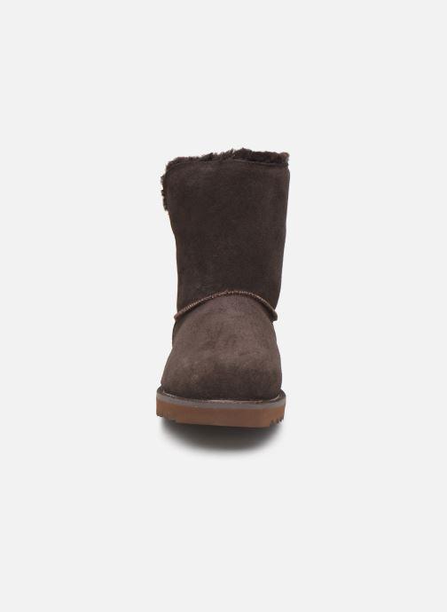 Bottines et boots Minnetonka Danaa Marron vue portées chaussures