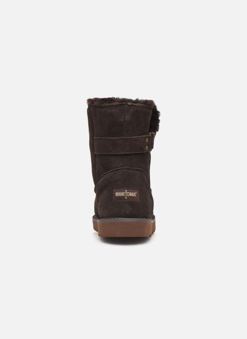 Bottines et boots Minnetonka Danaa Marron vue droite