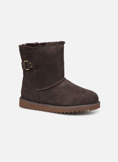 Bottines et boots Minnetonka Danaa Marron vue détail/paire