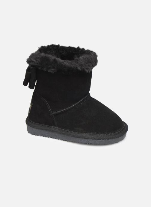 Støvler & gummistøvler Minnetonka Dooth Sort detaljeret billede af skoene