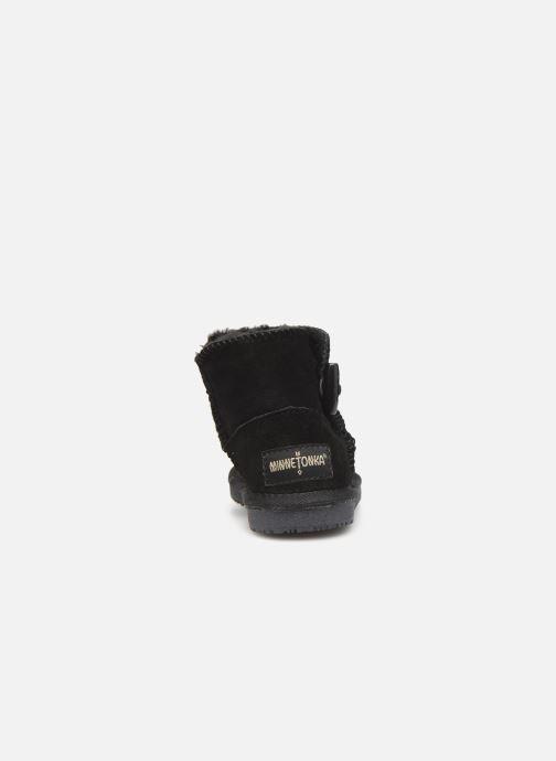 Støvler & gummistøvler Minnetonka Eklay Sort Se fra højre