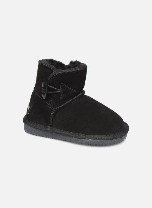 Støvler & gummistøvler Minnetonka Eklay Sort detaljeret billede af skoene