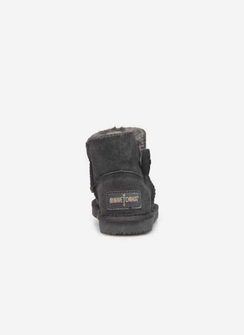 Støvler & gummistøvler Minnetonka Eklay Grå Se fra højre