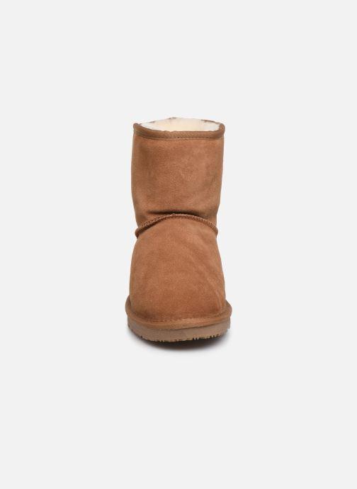 Bottines et boots Minnetonka Farsson Marron vue portées chaussures