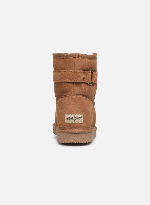 Bottines et boots Minnetonka Farsson Marron vue droite