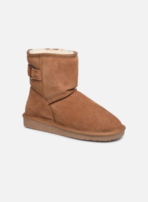 Bottines et boots Minnetonka Farsson Marron vue détail/paire