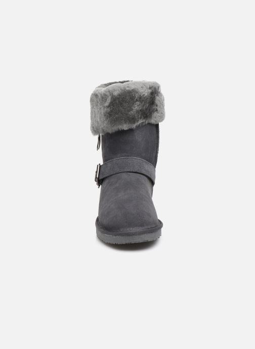 Bottines et boots Minnetonka Gaak Gris vue portées chaussures