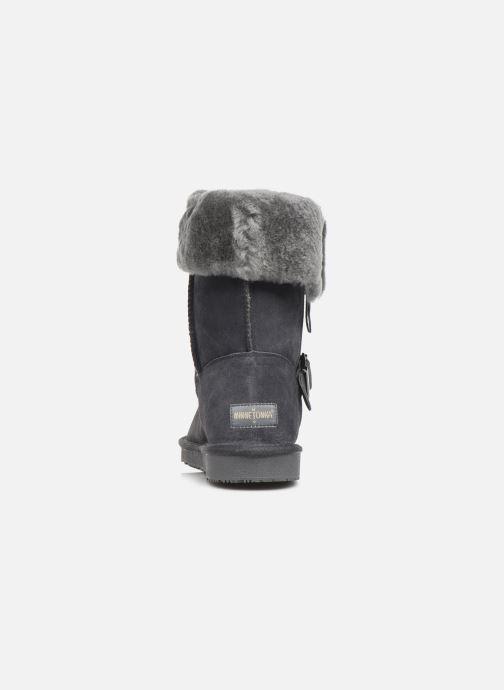 Bottines et boots Minnetonka Gaak Gris vue droite