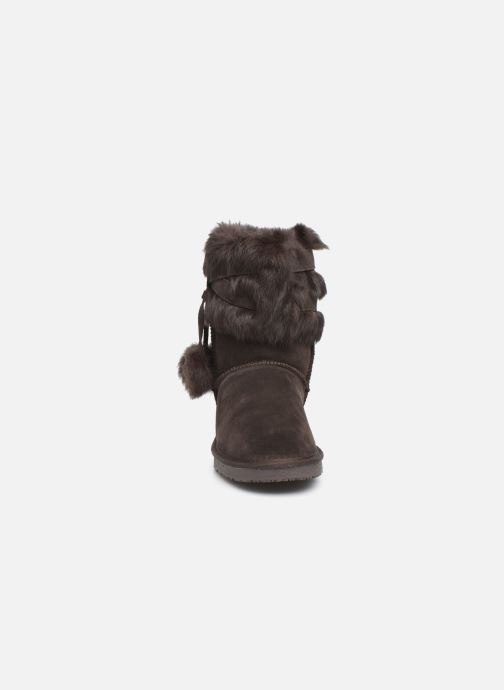 Bottines et boots Minnetonka Koons Marron vue portées chaussures