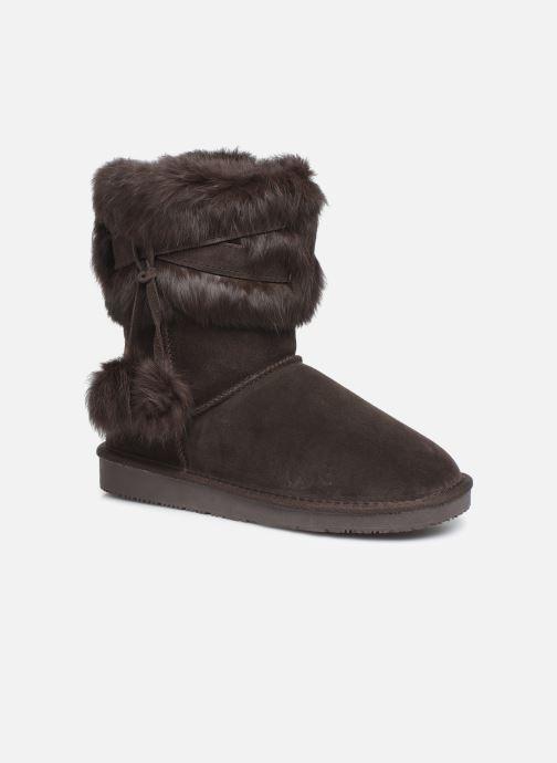 Bottines et boots Minnetonka Koons Marron vue détail/paire