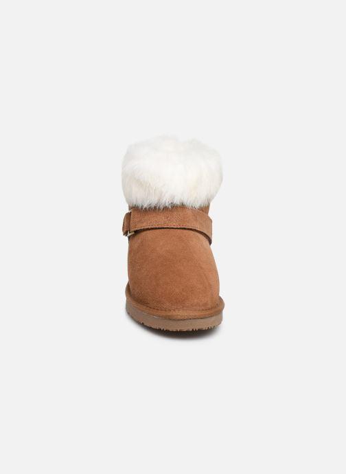 Bottines et boots Minnetonka Kidini Marron vue portées chaussures