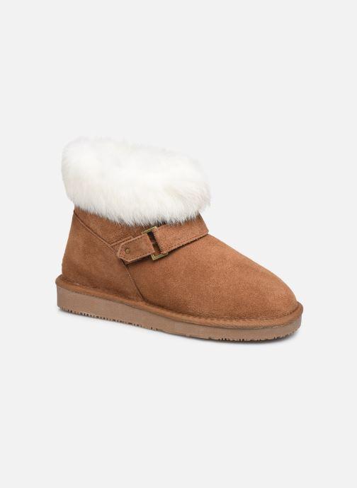 Bottines et boots Minnetonka Kidini Marron vue détail/paire