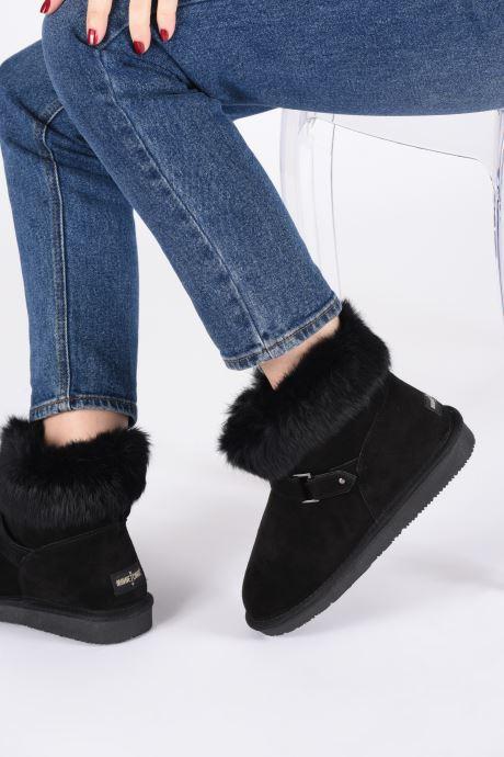 Bottines et boots Minnetonka Kidini Noir vue bas / vue portée sac