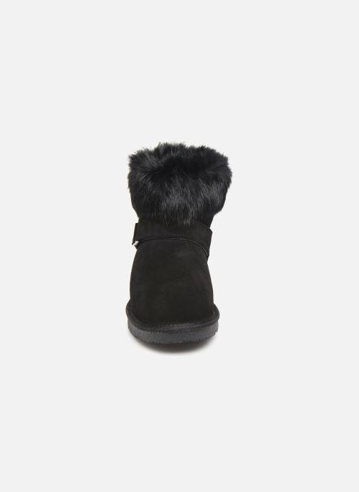 Bottines et boots Minnetonka Kidini Noir vue portées chaussures