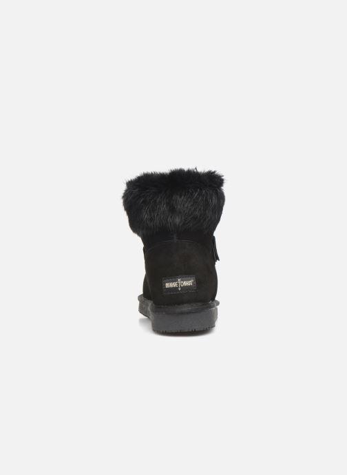 Bottines et boots Minnetonka Kidini Noir vue droite