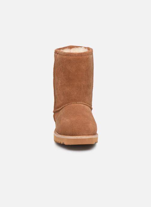 Bottines et boots Minnetonka Morniki Marron vue portées chaussures