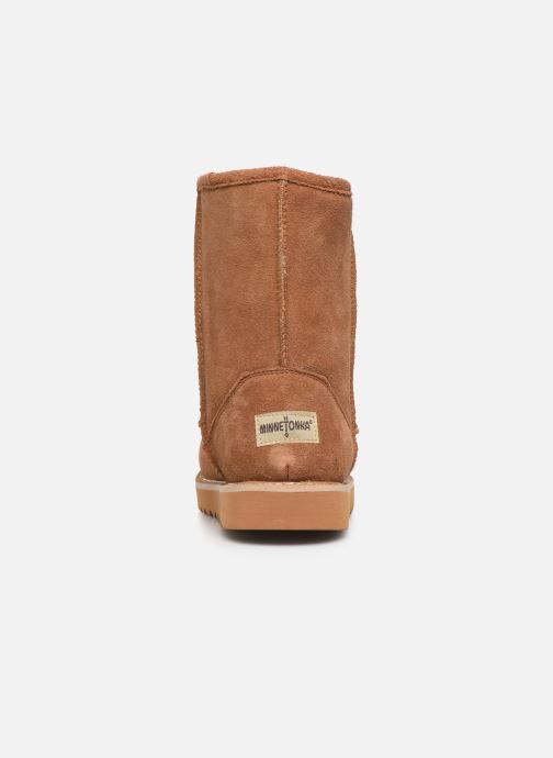 Bottines et boots Minnetonka Morniki Marron vue droite