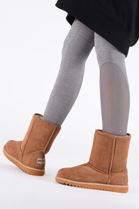 Bottines et boots Minnetonka Maraja Waterproof Marron vue bas / vue portée sac