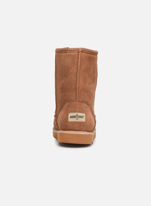 Bottines et boots Minnetonka Maraja Waterproof Marron vue droite