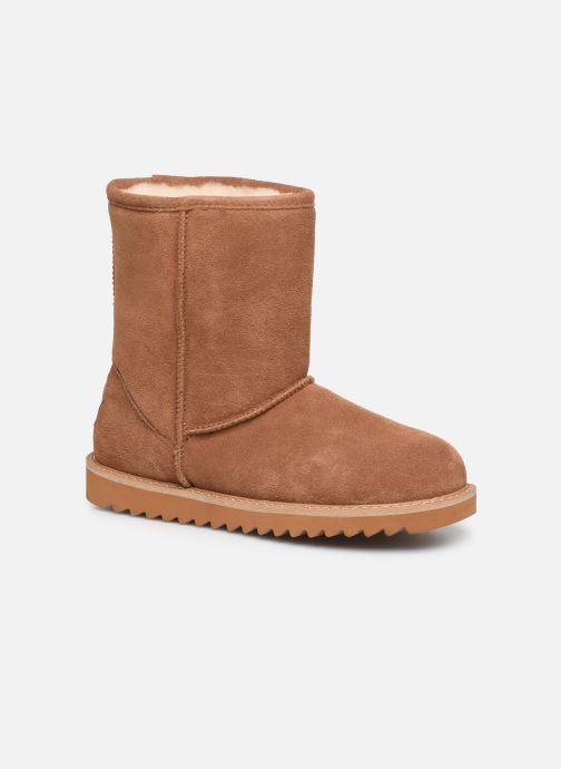 Bottines et boots Minnetonka Maraja Waterproof Marron vue détail/paire
