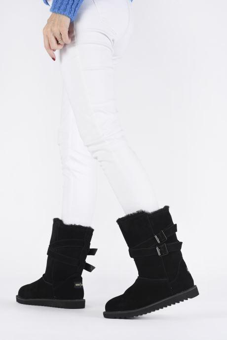 Støvler & gummistøvler Minnetonka Munuik Waterproof Sort se forneden