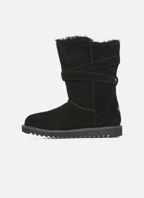 Støvler & gummistøvler Minnetonka Munuik Waterproof Sort se forfra