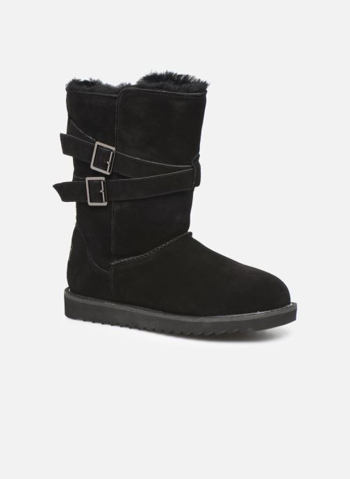 Støvler & gummistøvler Minnetonka Munuik Waterproof Sort detaljeret billede af skoene