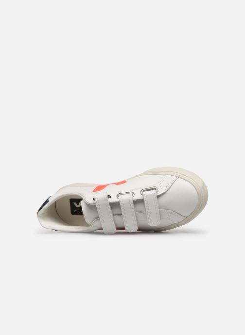 Sneakers Veja 3-Lock Logo Wit links