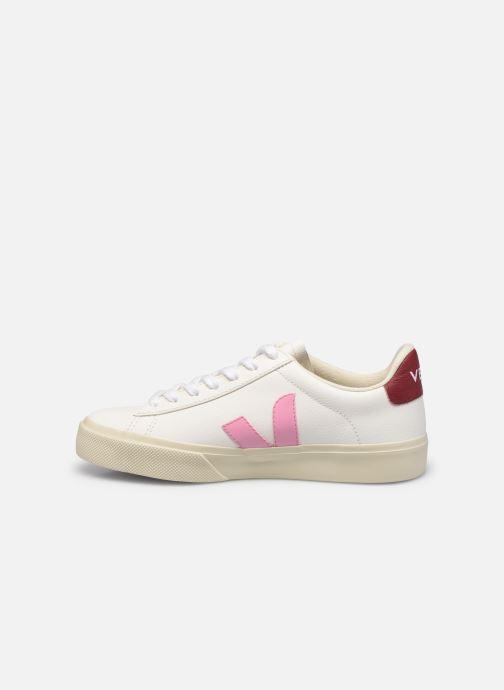 Sneaker Veja Campo W weiß ansicht von vorne