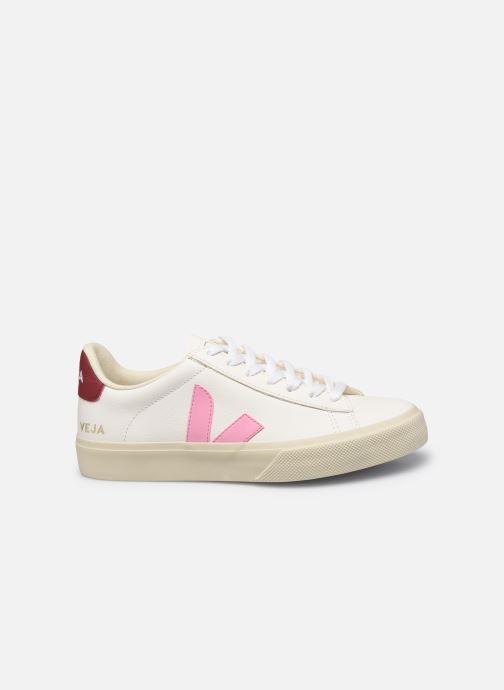 Sneaker Veja Campo W weiß ansicht von hinten