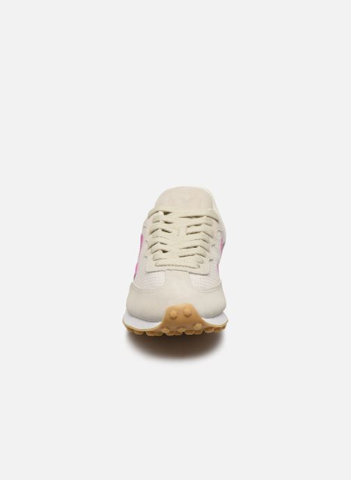 Baskets Veja Riobranco Gris vue portées chaussures