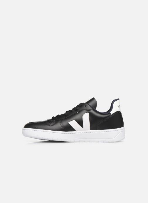 Sneaker Veja V-10 M schwarz ansicht von vorne