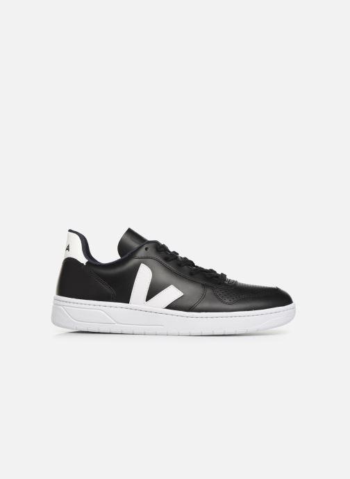 Sneaker Veja V-10 M schwarz ansicht von hinten