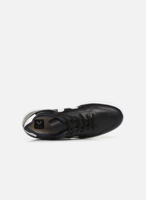 Sneaker Veja V-10 M schwarz ansicht von links