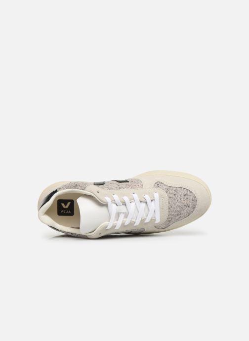 Sneakers Veja V-10 M Bianco immagine sinistra