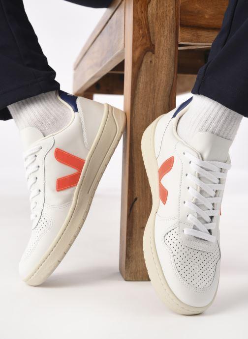 Sneakers Veja V-10 M Bianco immagine dal basso