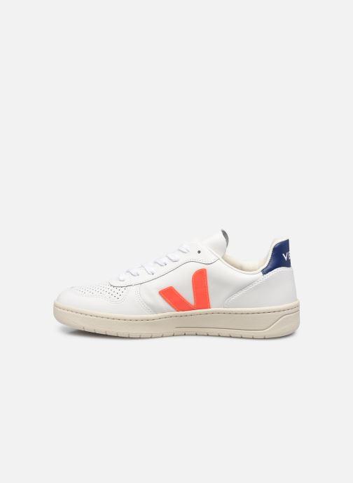 Sneakers Veja V-10 M Bianco immagine frontale