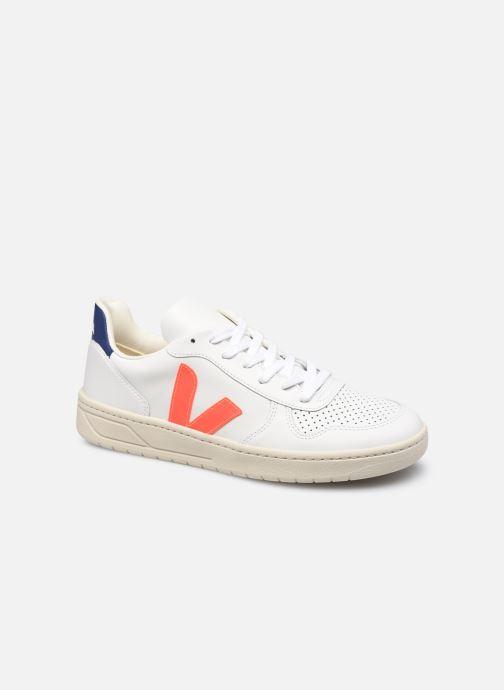 Sneakers Veja V-10 M Hvid detaljeret billede af skoene