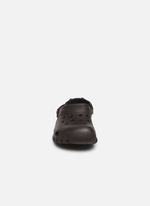 Sandals Crocs OffroadSportClg Brown model view