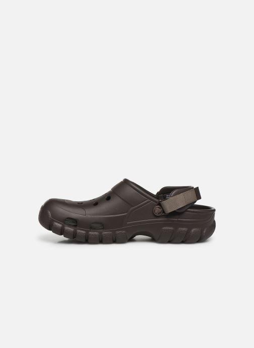 Sandals Crocs OffroadSportClg Brown front view