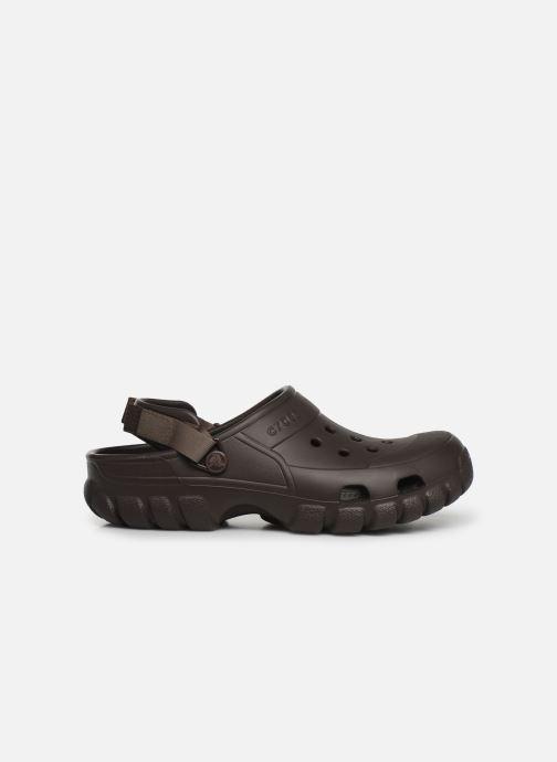 Sandals Crocs OffroadSportClg Brown back view