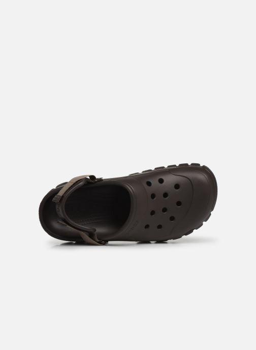 Sandalen Crocs OffroadSportClg Bruin links