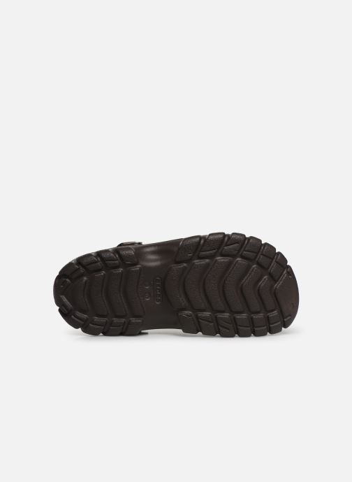 Sandalen Crocs OffroadSportClg braun ansicht von oben