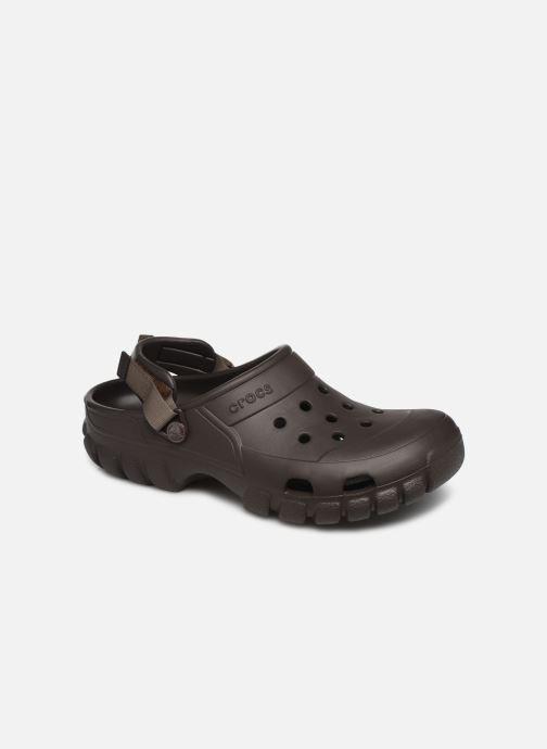 Sandales et nu-pieds Crocs OffroadSportClg Marron vue détail/paire