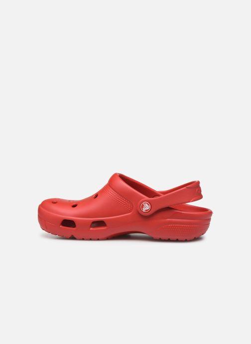 Zuecos Crocs Crocs Coast Clog W Rojo vista de frente