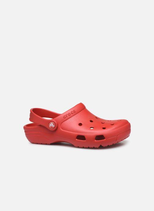 Zuecos Crocs Crocs Coast Clog W Rojo vistra trasera