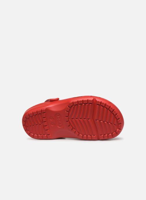 Zuecos Crocs Crocs Coast Clog W Rojo vista de arriba